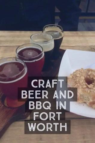 craft beer best bbq fort worth