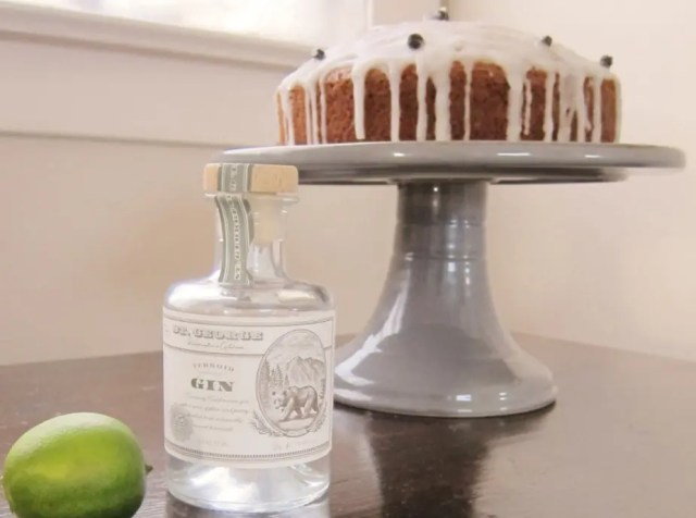 gin tonic cake