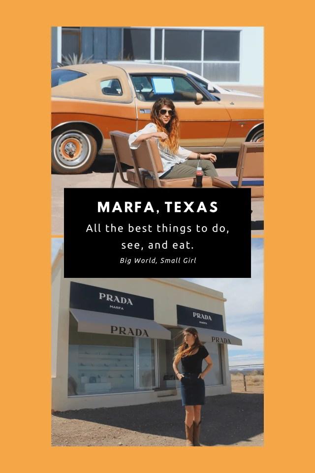 Things to Do Marfa Texas