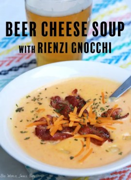 Creamy Beer Cheese Soup pinterest