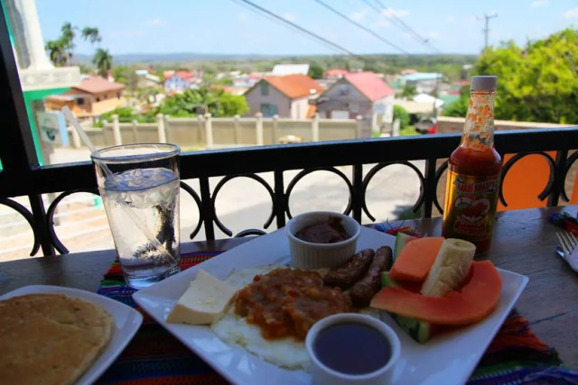 belize breakfast food
