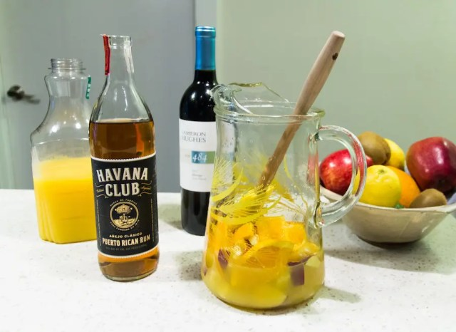Sangria recipe with rum