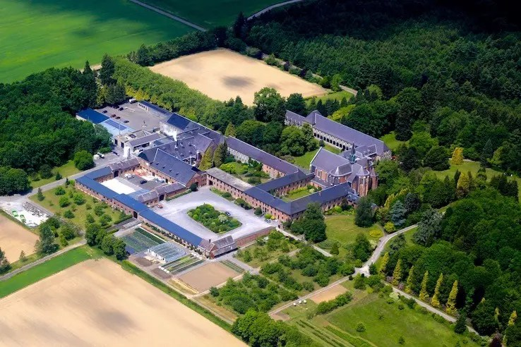 Scourmont (Chimay) aerial