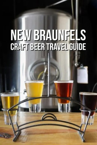 New Braunfels Craft Beer Travel Guide
