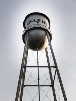 gruene texas water tower
