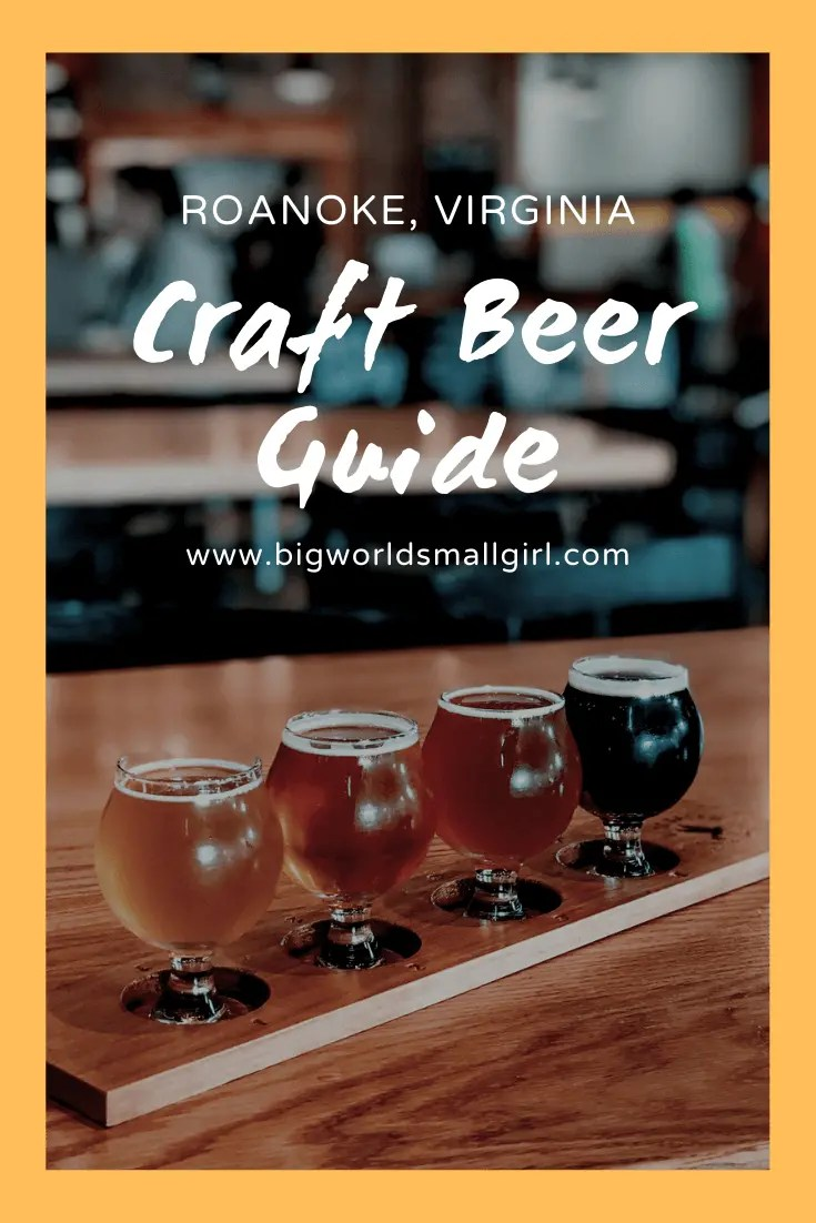 Roanoke craft beer guide
