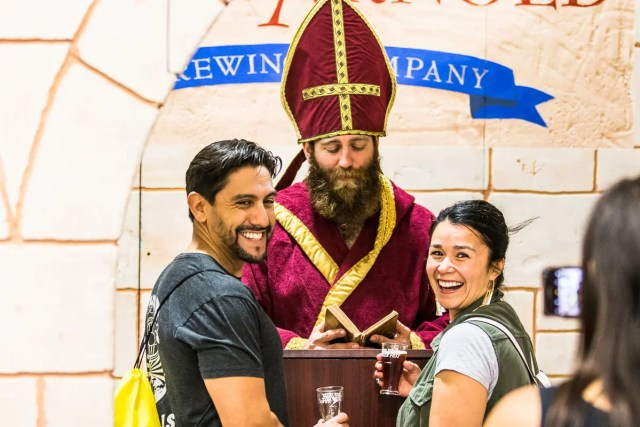 saint arnold beer marriage