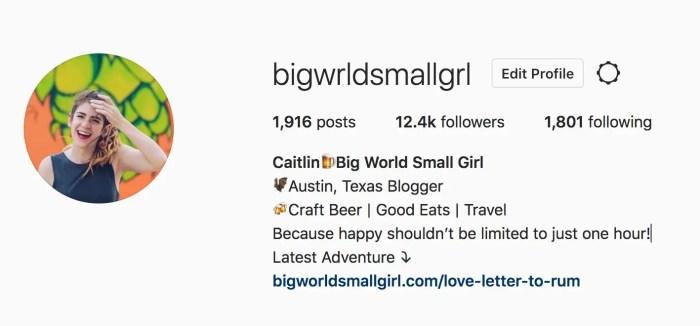 blogger instagram tips