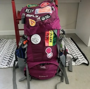 womens backpack travel gear