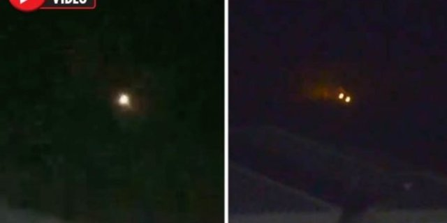 Image result for Mysterious bright objects appear 'over Area 51' twice in two days