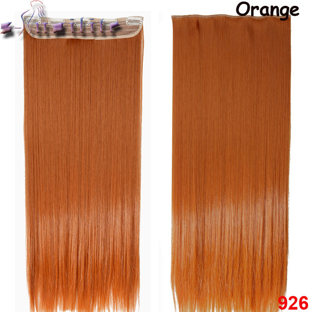 S noilite 18 30 inches clip in hair extensions 34 full head 5 s noilite 18 30 inches clip in hair extensions 34 full head 5 clips ins straight synthetic salon hairpiece black brown blonde big x market pmusecretfo Images