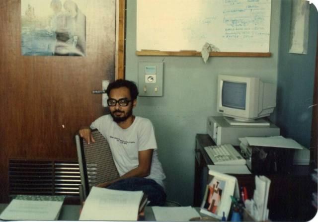 Ashoke Sen at TIFR