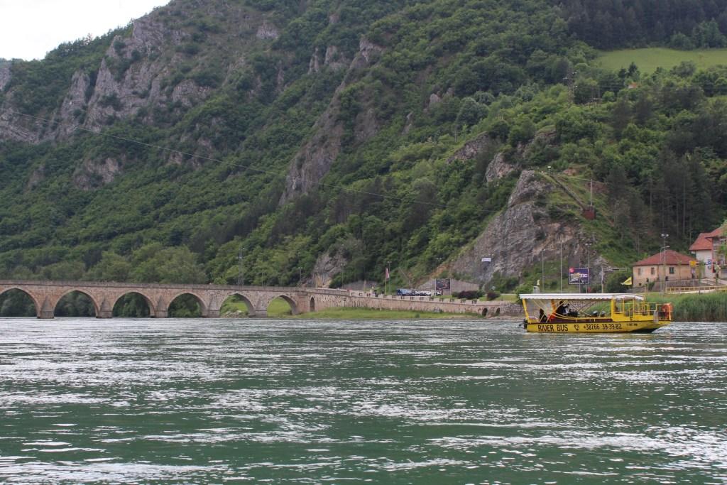 На кораблике по Дрине. Фото: Елена Арсениевич, CC-BY-SA-3.0