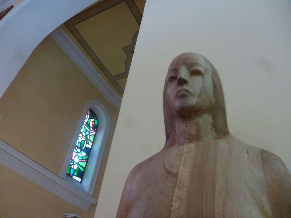 Скульптура в церкви. Фото: Елена Арсениевич, CC BY-SA 3.0