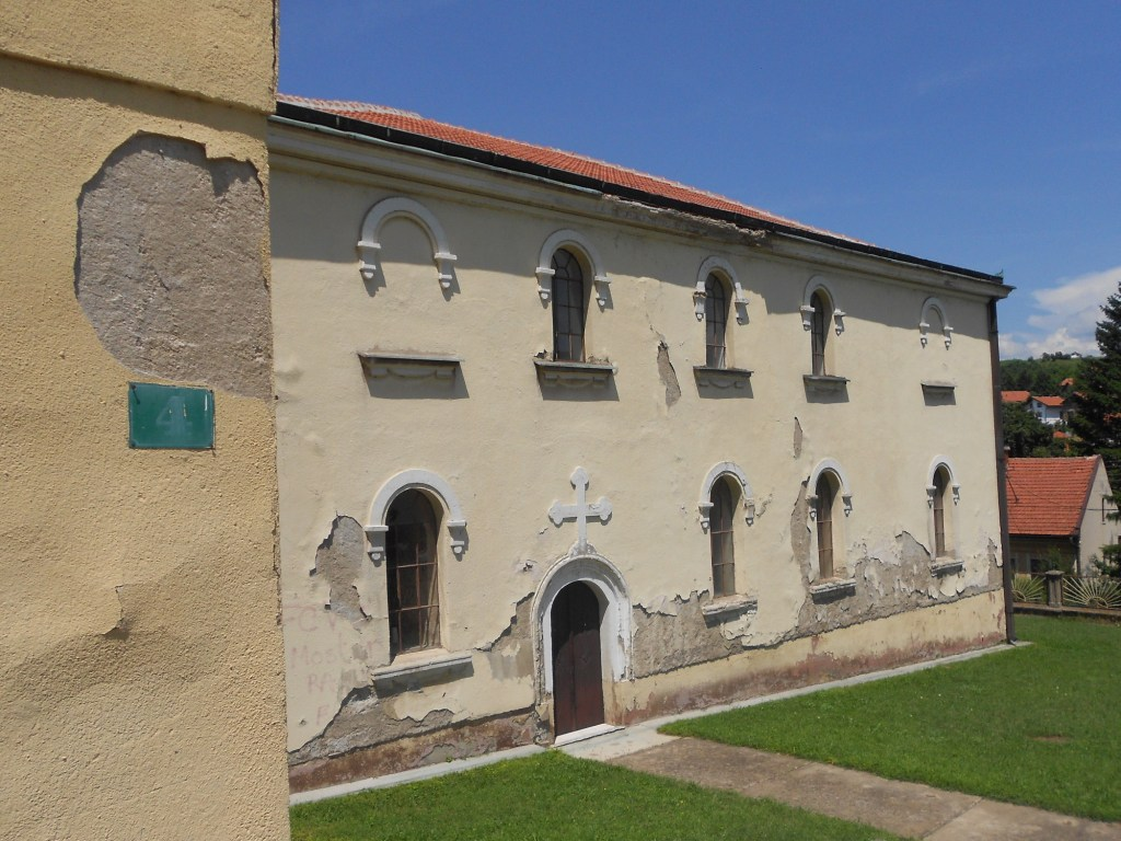 Церкви в Високо требуется ремонт. Фото: Елена Арсениевич, CC BY-SA 3.0