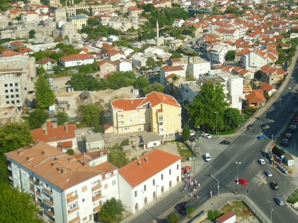 Место для новой синагоги – в левом верхнем углу перекрёстка