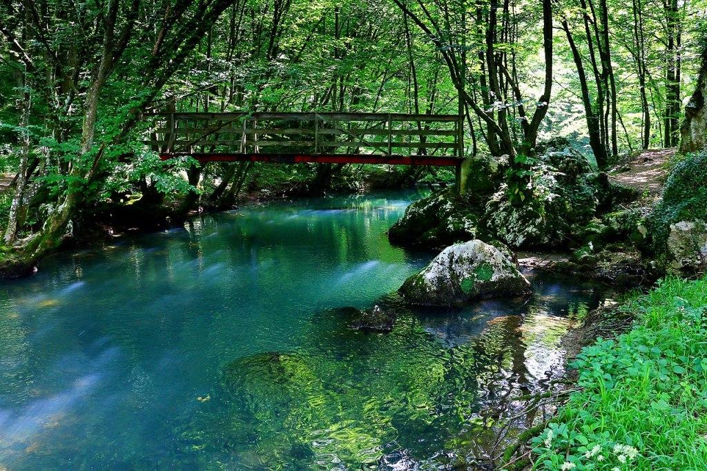 Река Крупа. Фото: Biljana Latinović1, CC-BY-SA-4.0