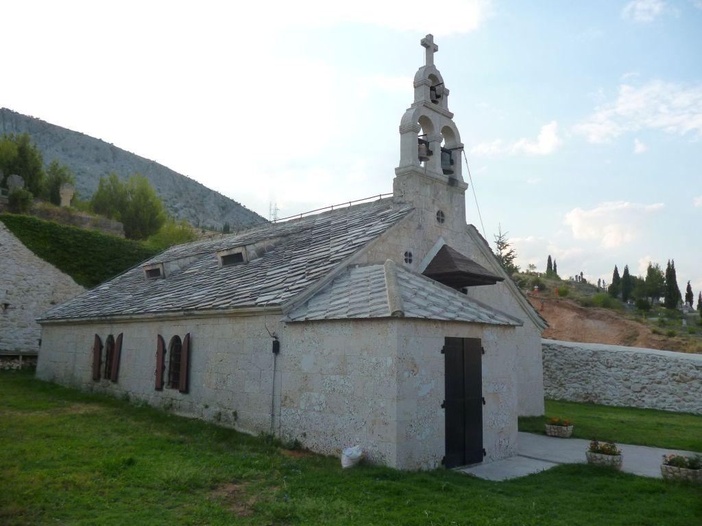 Церковь в Мостаре. Фото: Елена Арсениевич, CC BY-SA 3.0