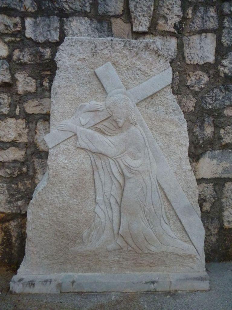 Стояние 2. Иисус берёт крест свой. Фото: Елена Арсениевич, CC BY-SA 3.0