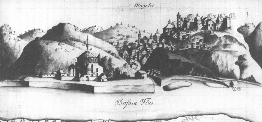 Маглай в 1697 году. Автор гравюры неизвестен