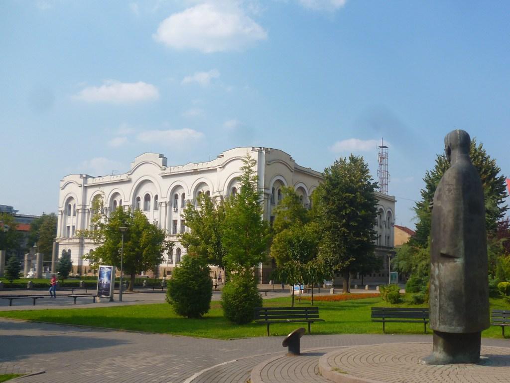 Банский двор и бан Милосавлевич. Фото: Елена Арсениевич, CC BY-SA 3.0