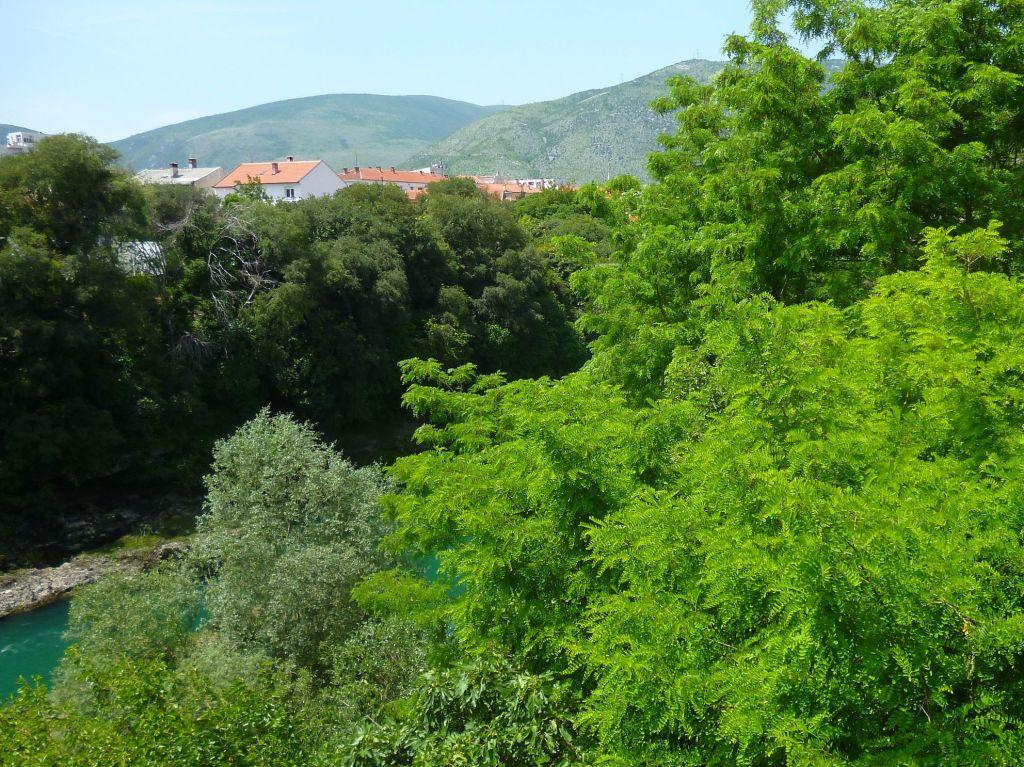 Вид из окна дома Бишчевича. Фото: Елена Арсениевич, CC BY-SA 3.0
