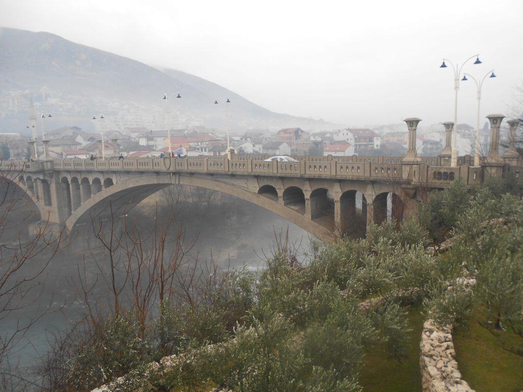 Царинский мост с правого берега. Фото: Елена Арсениевич, CC BY-SA 3.0