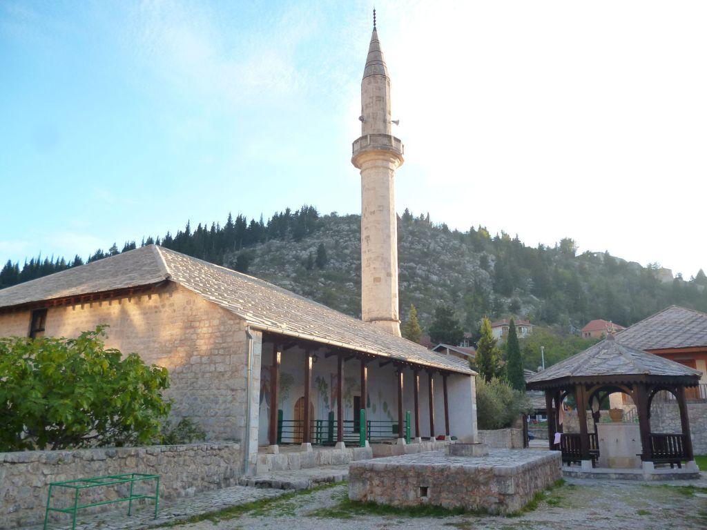 Чаршийская мечеть в Столаца. Фото: Елена Арсениевич, CC BY-SA 3.0