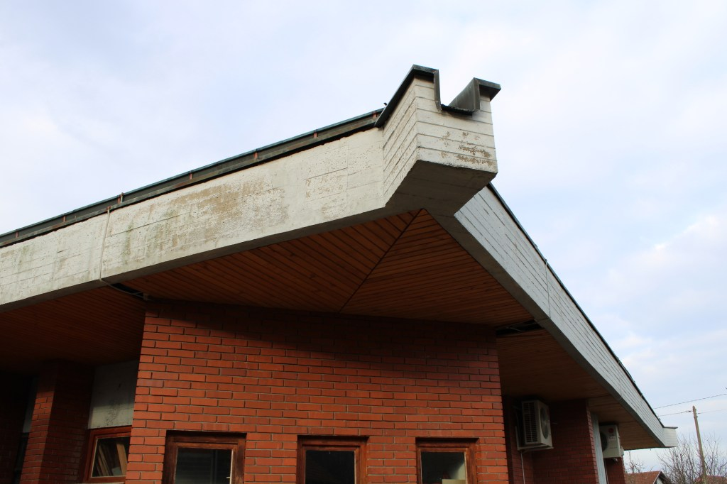 Церковь св. Анте. Крыша. Фото: Елена Арсениевич, CC BY-SA 3.0