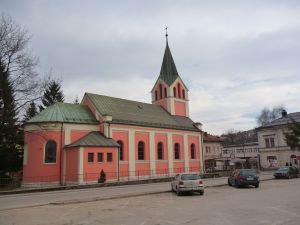 Церковь св. Иоанна Крестителя. Фото: Елена Арсениевич, CC BY-SA 3.0