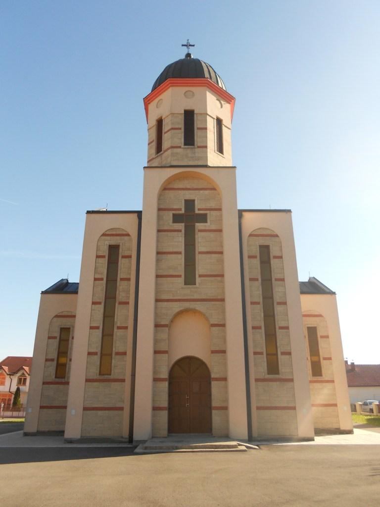Фасад собоной церкви. Фото: Елена Арсениевич, CC BY-SA 3.0