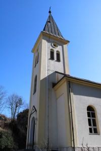 Колокольня тешаньской церкви. Фото: Елена Арсениевич, CC BY-SA 3.0