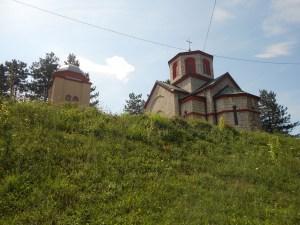 Церковь и колокольня. Фото: Елена Арсениевич, CC BY-SA 3.0