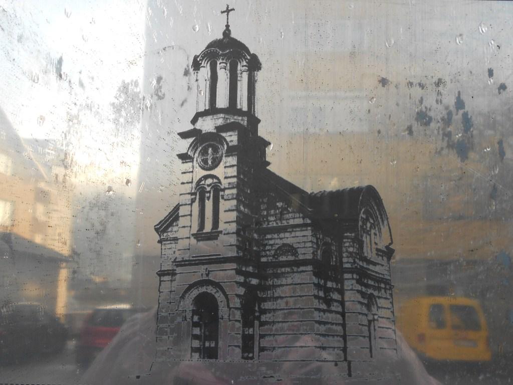 Так выглядела церковь до разрушения. Фото: Елена Арсениевич, CC BY-SA 3.0