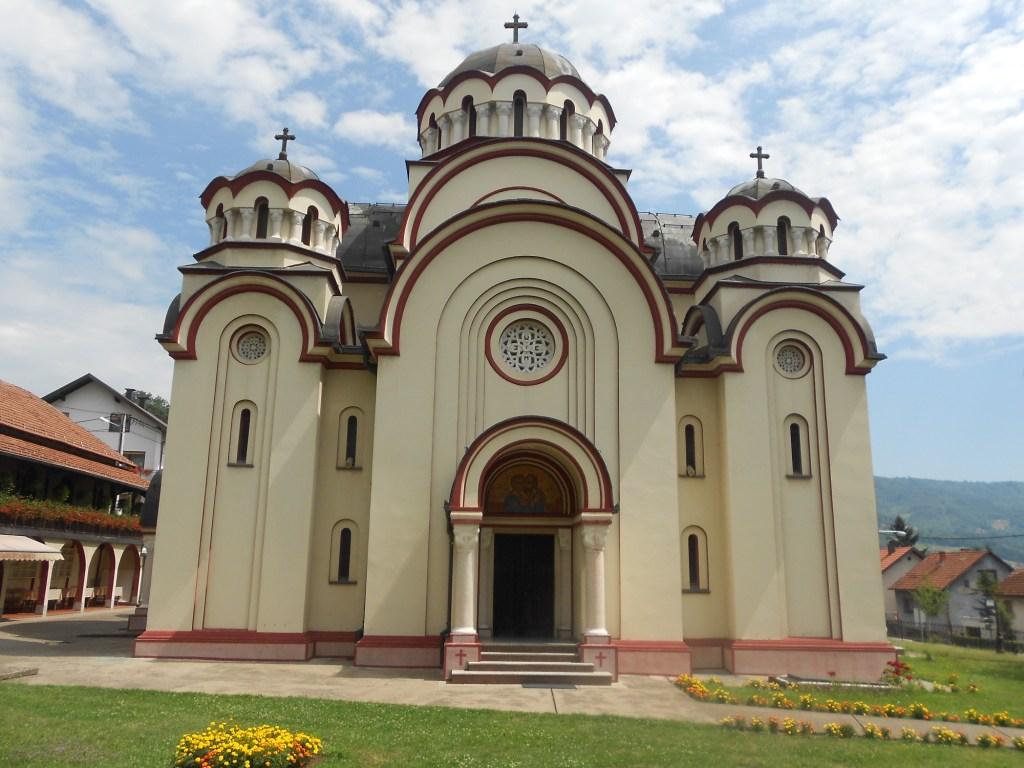 Церковь в сербско-византийском стиле. Фото: Елена Арсениевич, CC BY-SA 3.0