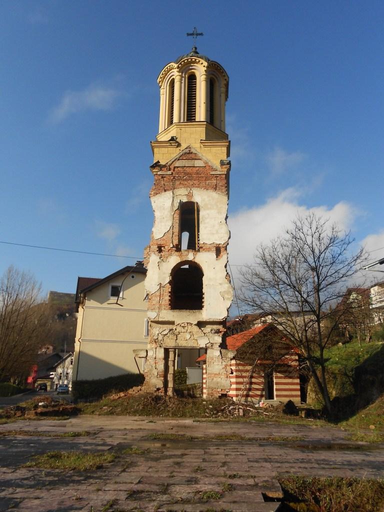 То, что осталось от церкви. Фото: Елена Арсениевич, CC BY-SA 3.0