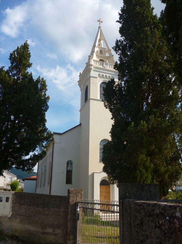 Церковь в Благае. Фото: Елена Арсениевич, CC BY-SA 3.0