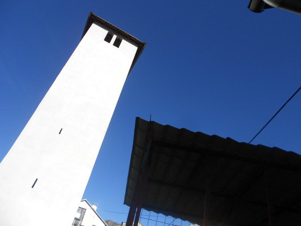 Часовая башня без часов. Фото: Елена Арсениевич, CC BY-SA 3.0