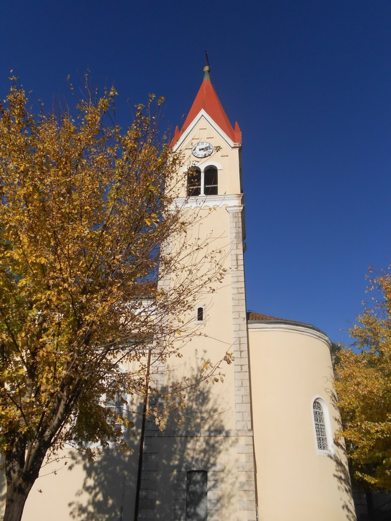 Колокольня церкви св. Илии. Фото: Елена Арсениевич, CC BY-SA 3.0