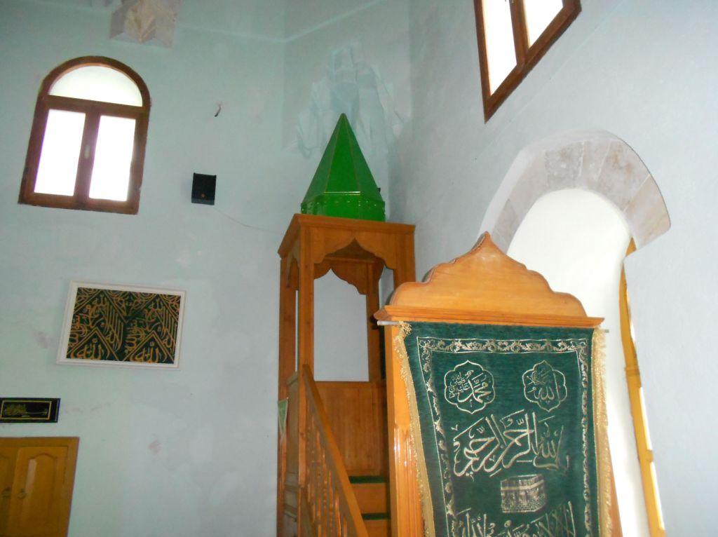 Минбар Лала-пашиной мечети. Фото: Елена Арсениевич, CC BY-SA 3.0