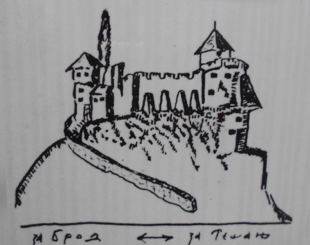 Добой на старинной гравюре. Автор неизвестен, public domain