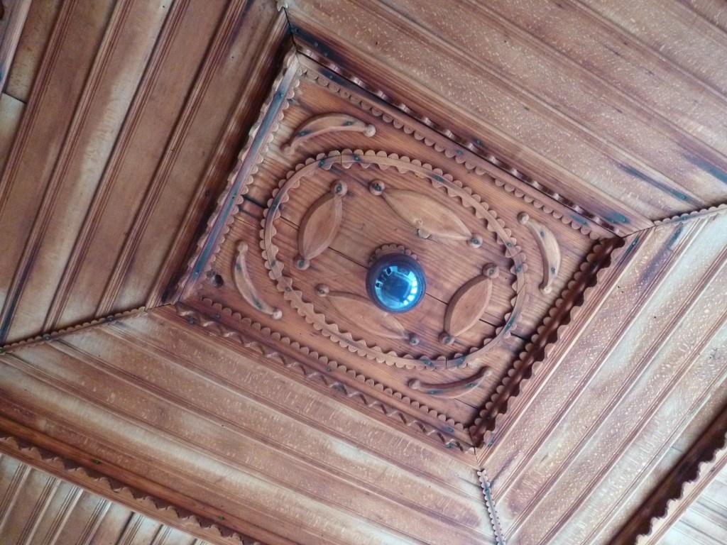 Деревянный потолок. Фото: Елена Арсениевич, CC BY-SA 3.0