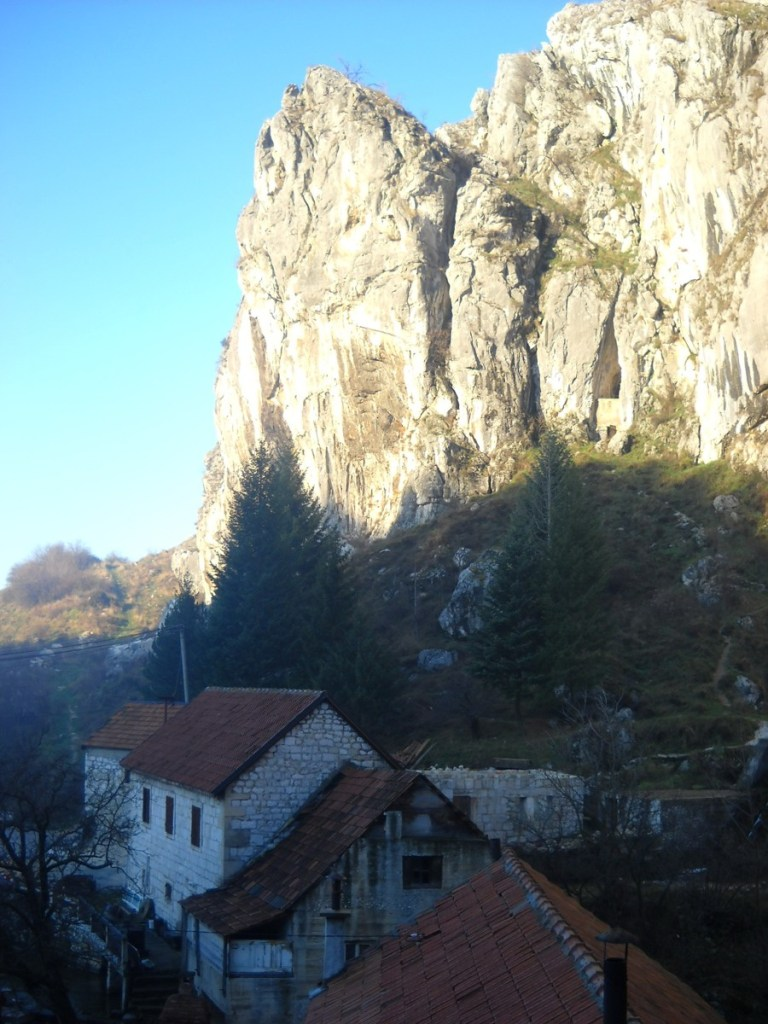 Скалы над Бистрицей. Фото: Елена Арсениевич, CC BY-SA 3.0
