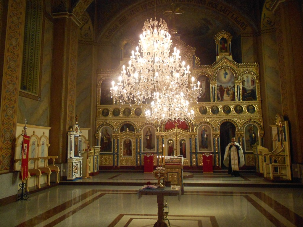 Убранство церкви св. Георгия. Фото: Елена Арсениевич, CC BY-SA 3.0