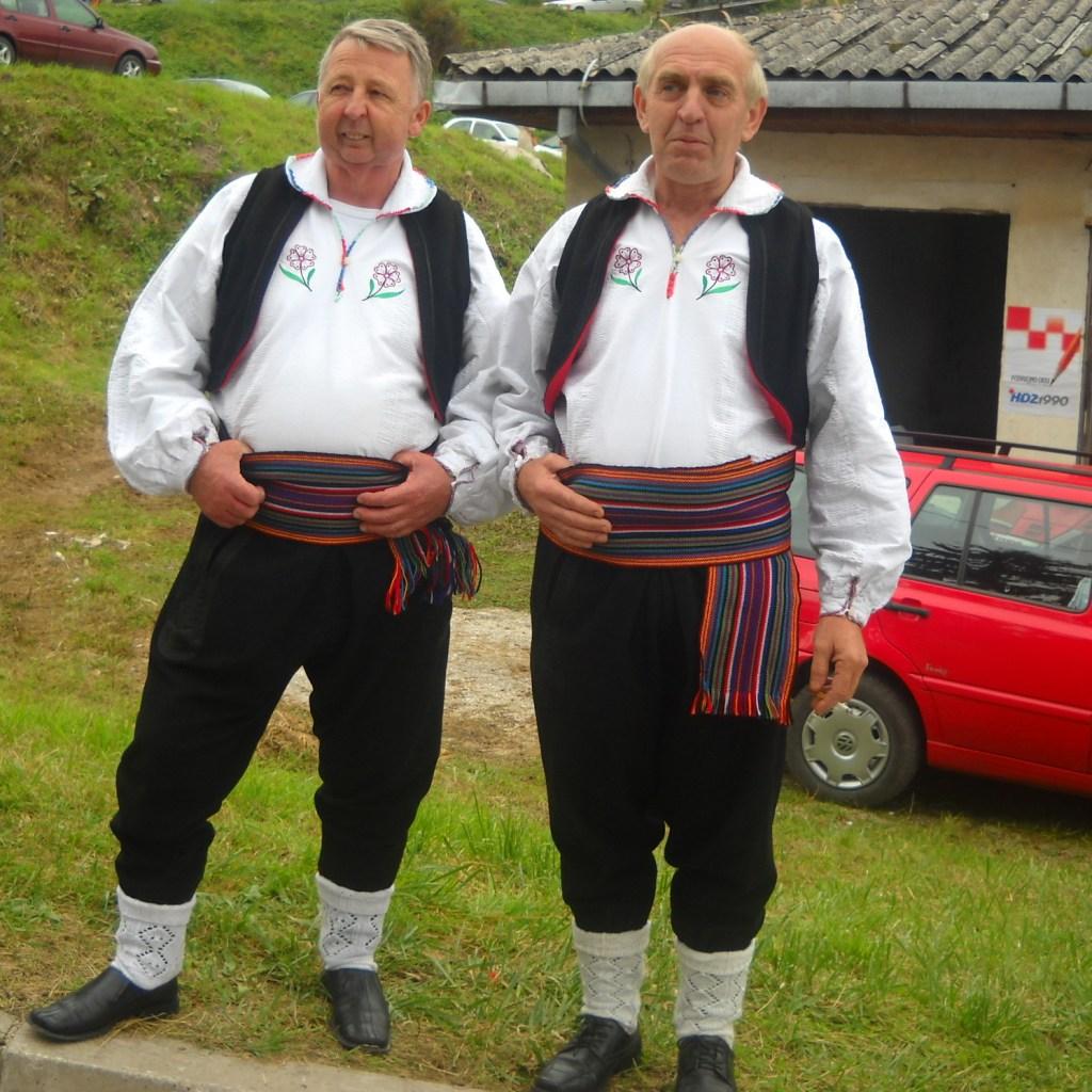 Хорваты из Гуча Горы. Средняя Босния. Фото: Елена Арсениевич, CC BY-SA 3.0