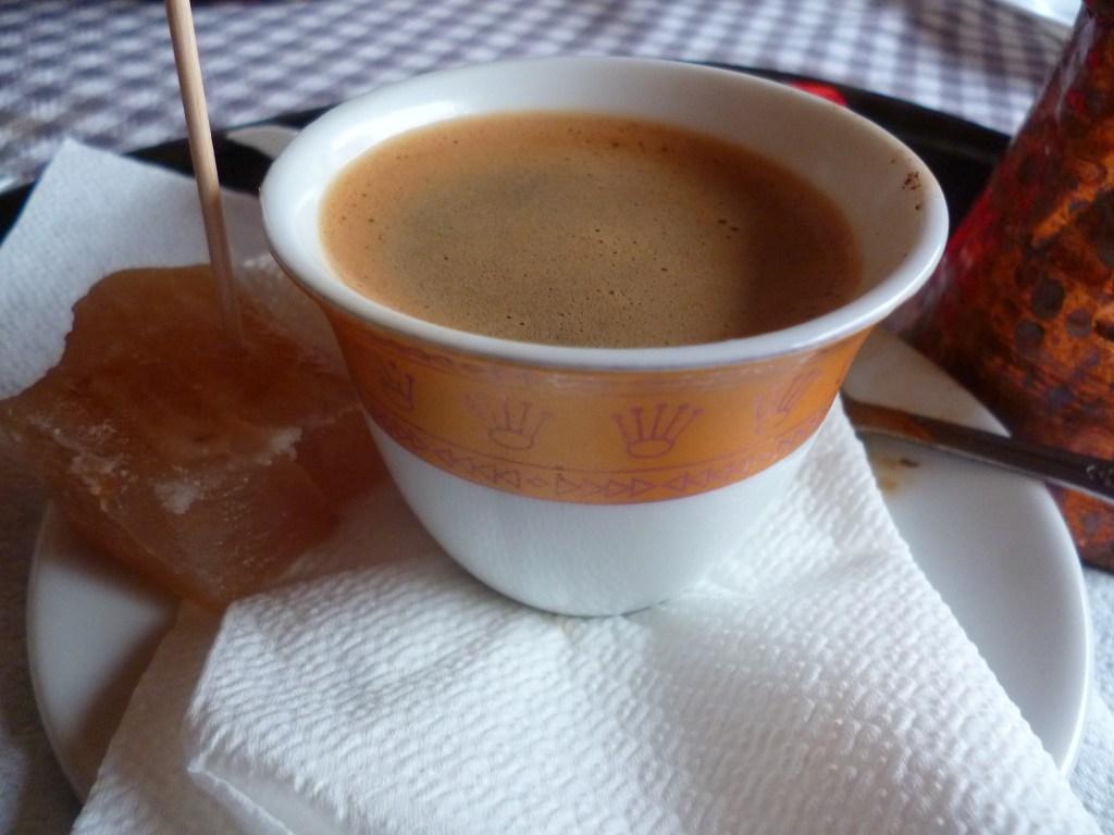 Филджан, кофе и рахат-лукум. Фото: Елена Арсениевич, CC BY-SA 3.0