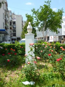 Памятник голубю в Травнике. Фото: Елена Арсениевич, CC BY-SA 3.0