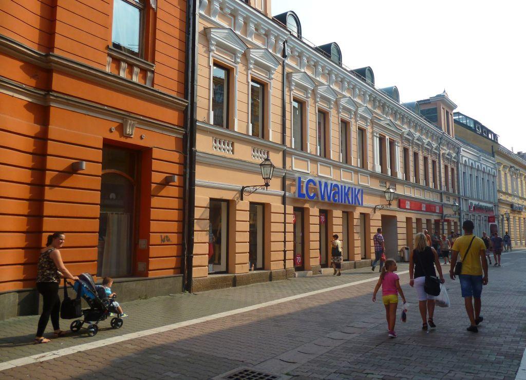 Господска улица в Баня Луке. Фото: Елена Арсениевич, CC BY-SA 3.0