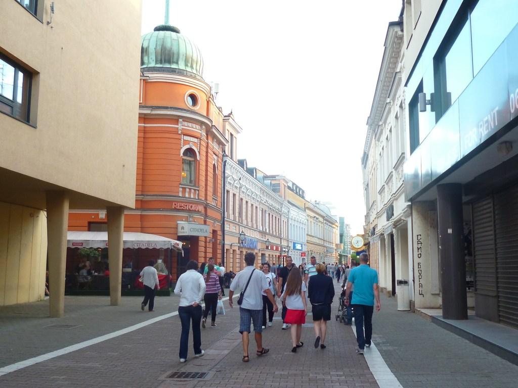 Улица для прогулок в Баня Луке. Фото: Елена Арсениевич, CC BY-SA 3.0