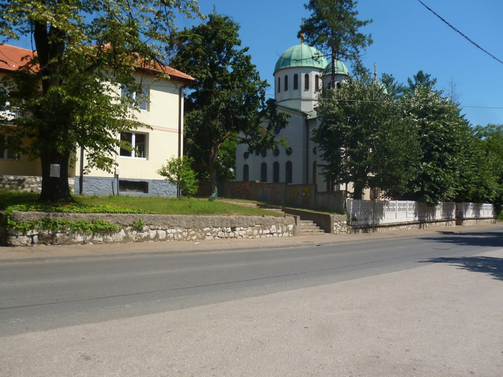 Церковь в центре Грачаницы. Фото: Елена Арсениевич, CC BY-SA 3.0